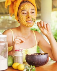 Homemade methods for lovely complexion.